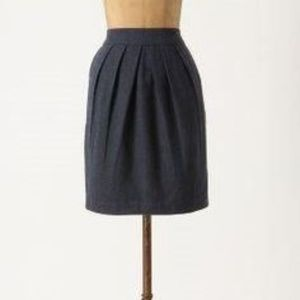 Anthropologie Tabitha Shaded Glory Skirt Linen 2